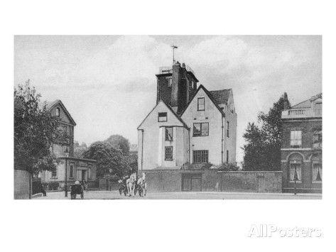 Canonbury Tower, Canonbury Square, Islington, C.1907 Giclee Print