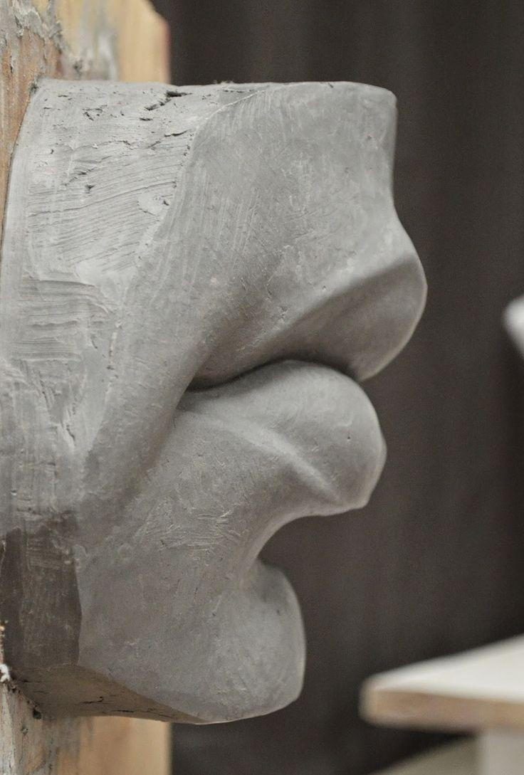 anatomy lips modelling - Google-Suche                                                                                                                                                                                 Más