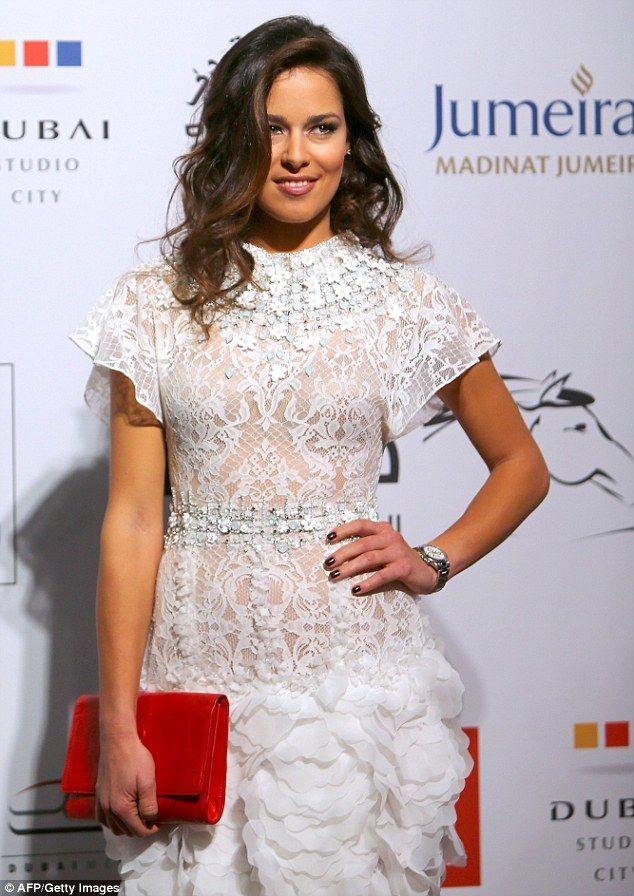 Ana ivanovic yellow dress