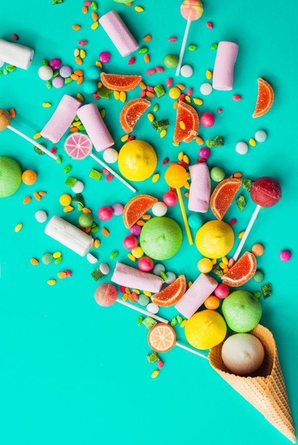 art direction | candy explosion, sweets, colorful, süssigkeiten, farben, bunt, kunst