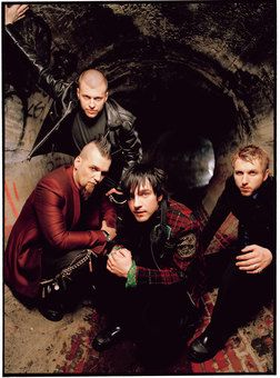 three days grace....okay, even I have to admit, they seem kinda emo...but soooo good.