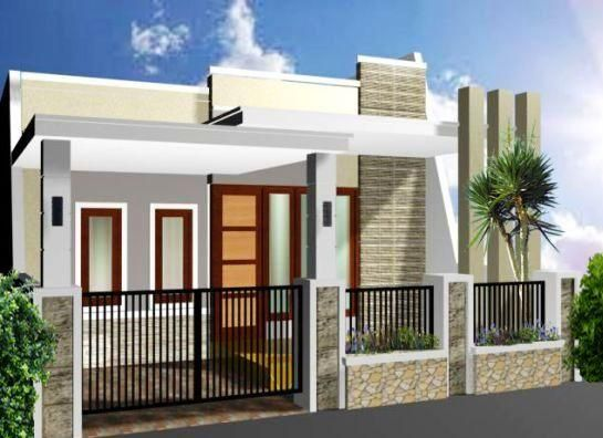desain pagar rumah terbaru