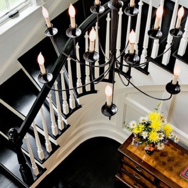 Love The Black Floor And Stair Treads! Traditional Staircase By Crisp  Architects
