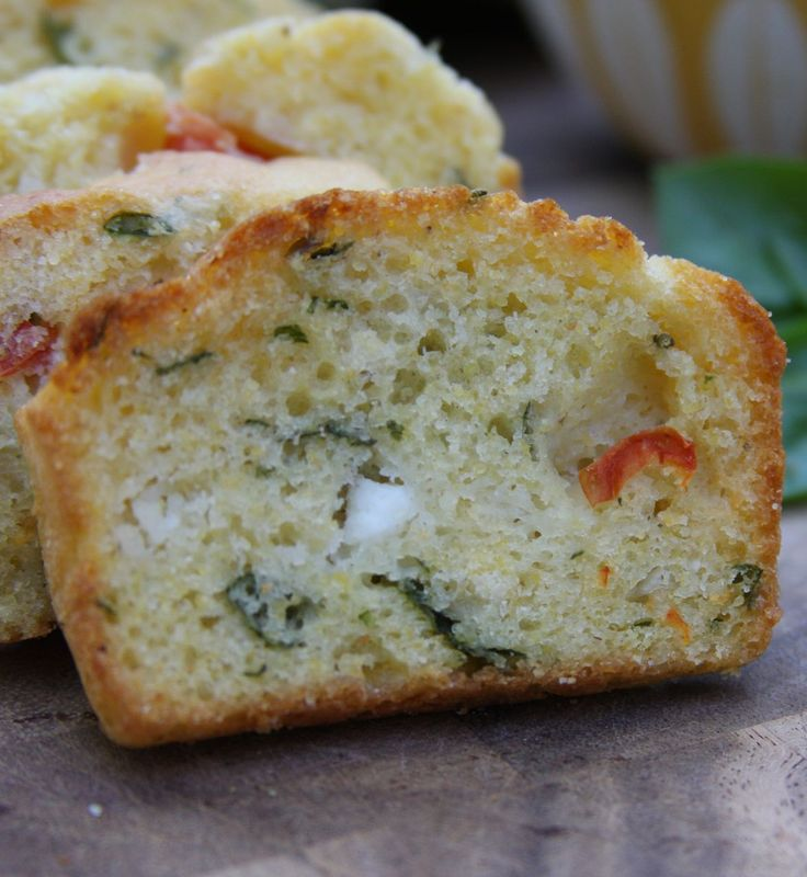 From Green Market Baking Book by Laura C. Martin. Martin suggests serving this pretty bread with a summer salad. Just before serving, cut each loaf into 1/2-inch slices, place on a cookie sheet, and toast in a preheated, 350-degree oven. Serve hot.