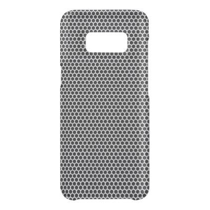 Silver Metal Screen Pattern Uncommon Samsung Galaxy S8 Case - metal style gift ideas unique diy personalize