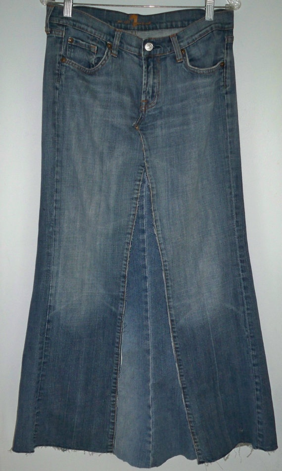 for a fun look wear it with denim. We found this vintage skirt on etsy.com
