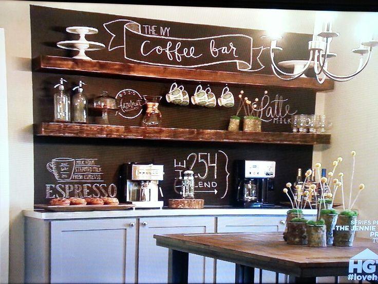 Coffee Bar Hgtv Fixer Upper Home Wish List Pinterest