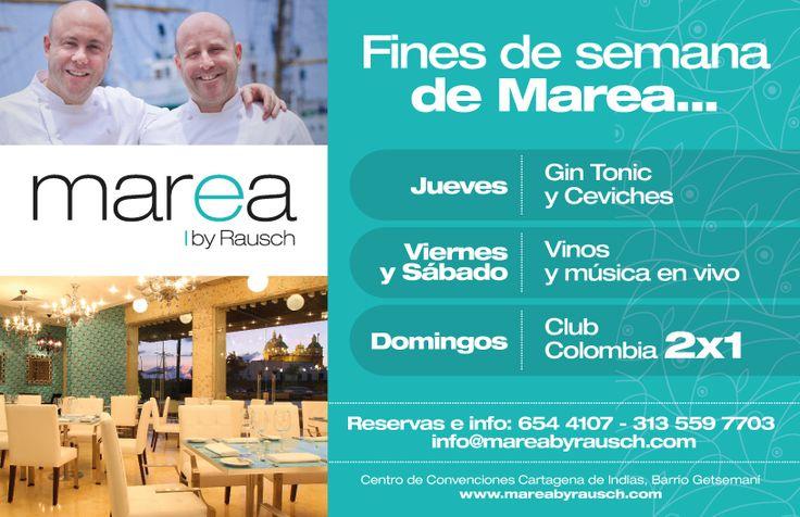 #Cocina de #mar de alta calidad y fines de semana de #promociones exquisitas en #Cartagena
