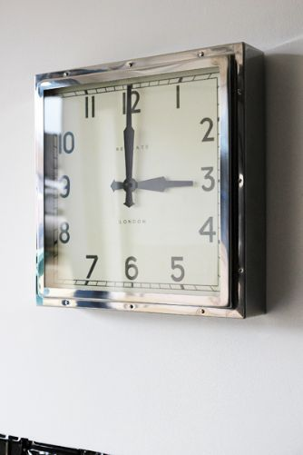 Newgate Quad Wall Clock