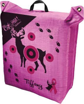 The crush morrell target. Pink compound bow target