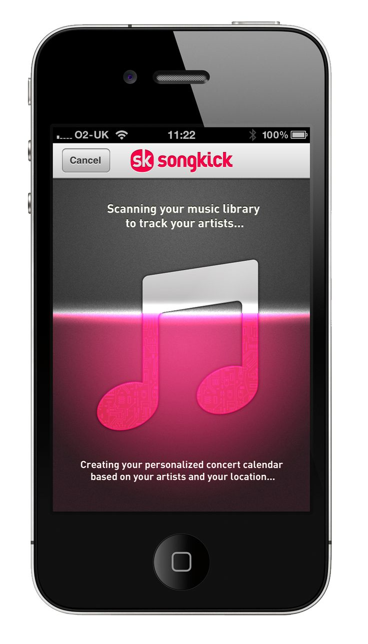music app - Sök på Google