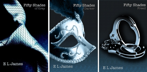 Fifty Shades of Grey triology - don't let all the hype keep you from reading the books. they aren't that bad . The characters are a one dimensional & a little immature if anything should be said about the books