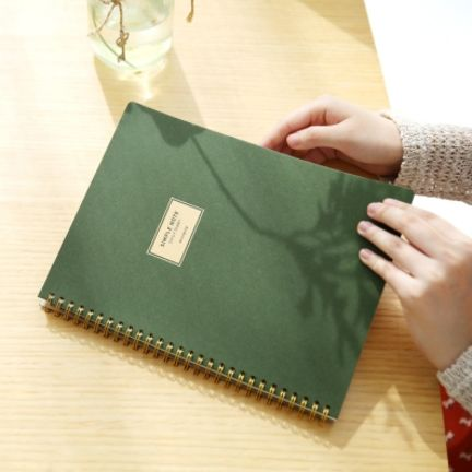 Basic Daily Diary Notebook