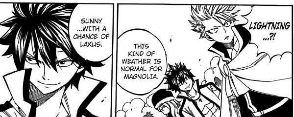 Sunny with a chance of Laxus (Fairy Tail) - http://www.loonyhumor.com/sunny-with-a-chance-of-laxus-fairy-tail/