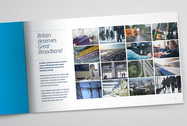 UK Broadband - Brand Refresh - Brochure Spread