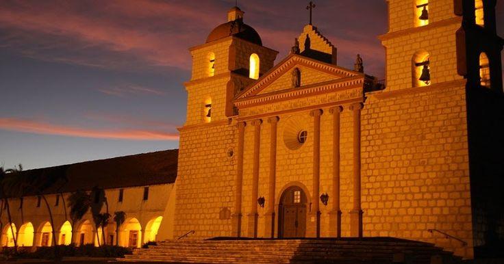 Old Mission Santa Bárbara #viagem #california