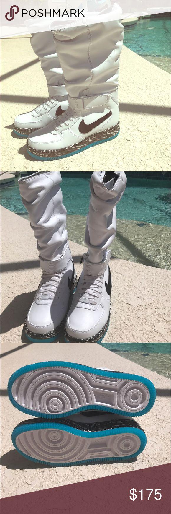 best sneakers 12b0e b8218 nike air force 1 upstep warrior n7 christmas