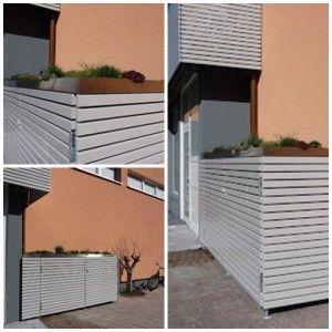 Mülltonnen - Tipp  http://apprico.de/der-erste-eindruck-muelltonnen-und-aschebehaelter/www.apprico.de #fengshui