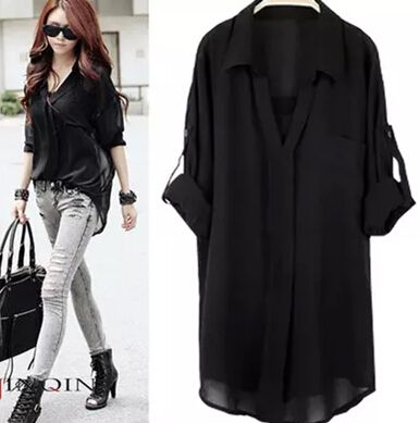 Cheap shirt gallery, Buy Quality shirt iron directly from China shirt problem Suppliers: start16368175108090Spring And Autumn The Chiffon Shirt 2015 Fema US $19.992015 New Casual Self-cultivation In The Lon