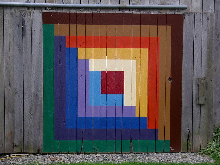 34 best house exterior images on pinterest barn art for Front door quilt pattern