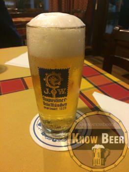 Birra Tedesca del Birrificio Augustiner. Birra Edelstoff!