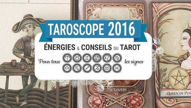 Tarot et oracle horoscope 2016 signe par signe - Je vous présente les énergies et les conseils du tarot et de votre animal totem pour tous les signes astrologiques pour l'année 2016. #tarotdivinatoire #tarot #tarotcartes #tarotdeck #divination #oracledivinatoire #oracle #oraclecartes #oracledeck #oraclecards #connaissancedesoi #courstarot #coursdivination #TarotCardReading #TarotReader #taroscope #horoscope #tarotHoroscope #energies #tarotreading #horoscope2016 #belier #previsions2016