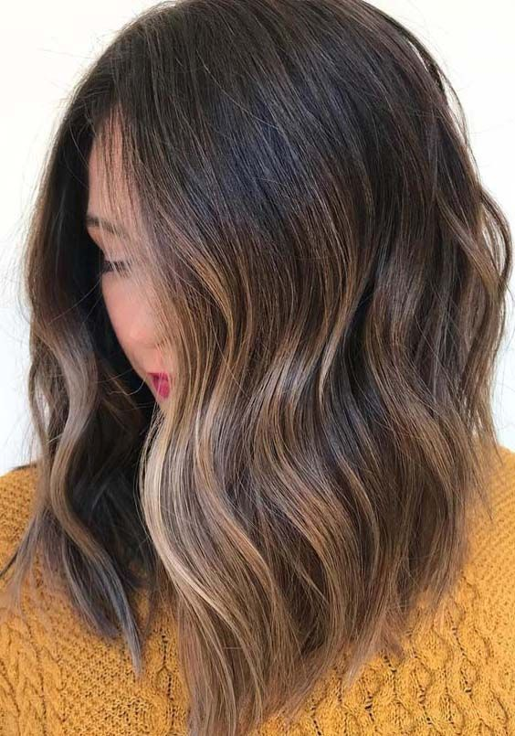 Check our favorite ideas of brunette hair colors and highlights. The blends of b…