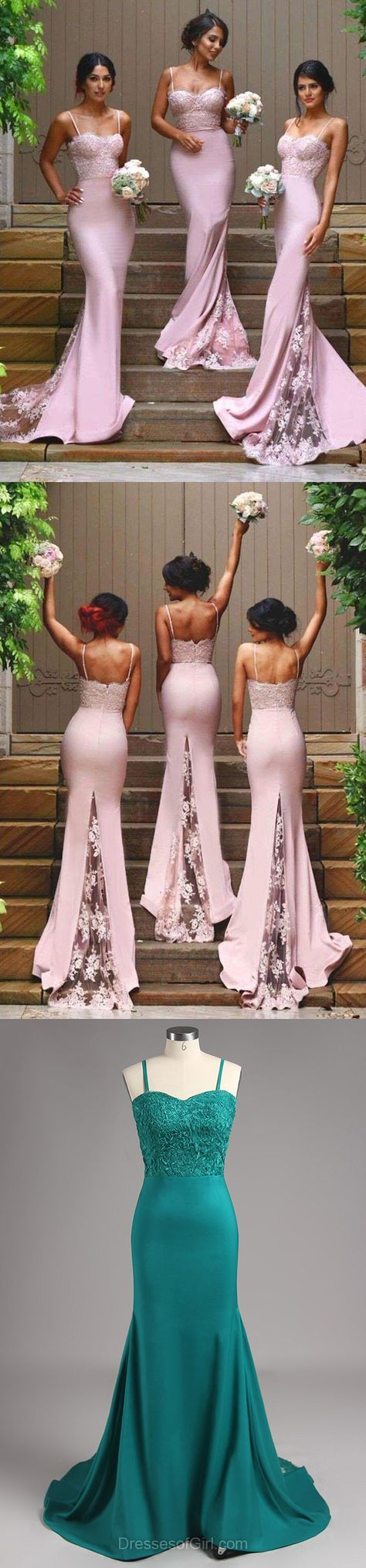 Pink Prom Dress, Long Prom Dresses, Sexy Evening Gowns, Mermaid Party Dresses, Satin Formal Dresses
