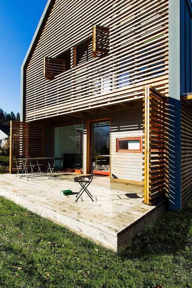 Nenáročný rodinný dom v štýle vidieckej stodoly | Rodinné domy | Stavby | Architektúra | www.asb.sk