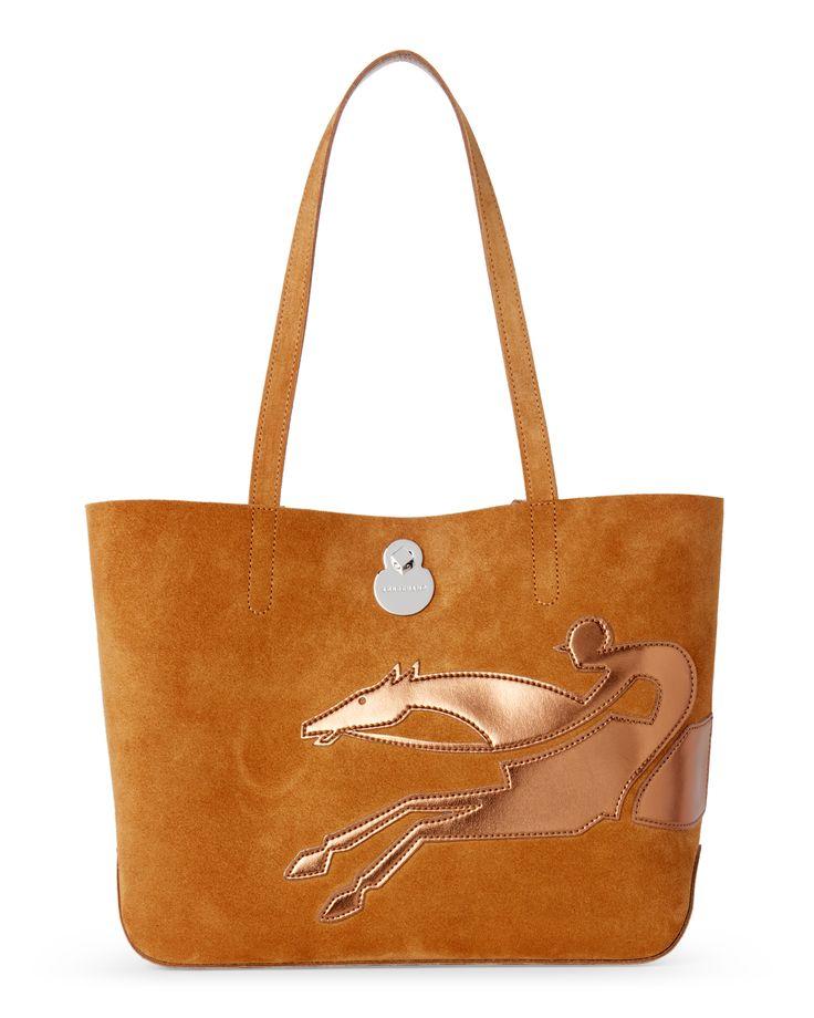 Longchamp Camel Shop It Longchamp Rider Tote