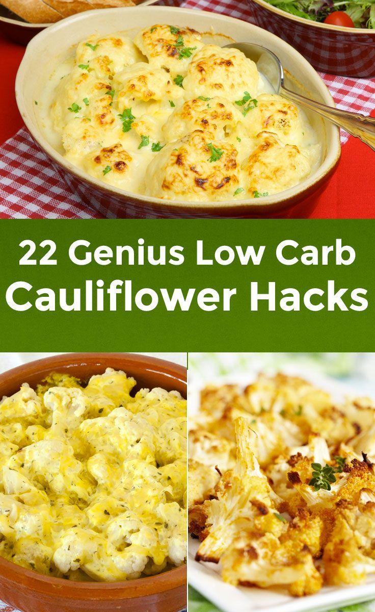22 Genius Low-Carb Cauliflower Hacks