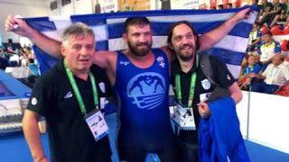Τεράστια επιτυχία! Ο Αλέξανδρος Παπαδάτος με καταγωγή από τη Λήμνο Χρυσός Ολυμπιονίκης στην πάλη στην Τουρκία!