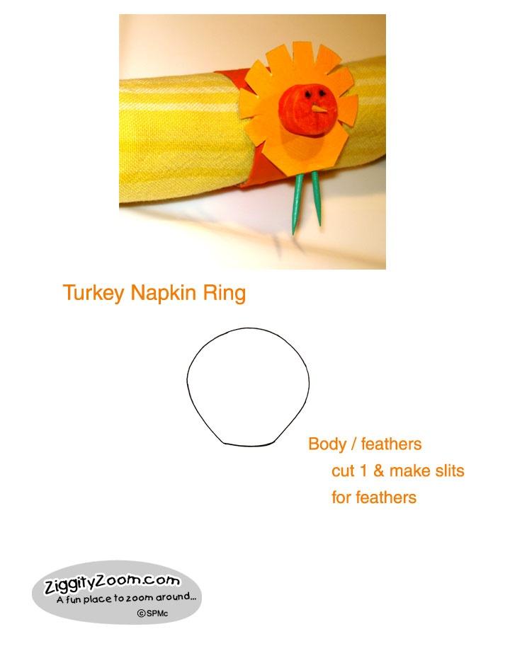 Napkin rings thanksgiving diy and easy kids crafts on for Napkin rings for thanksgiving