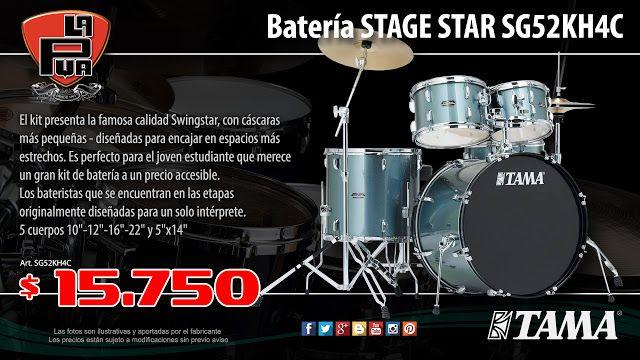 La Púa San Miguel: Batería TAMA STAGE STAR SG52KH4C - 5 cuerpos con f...