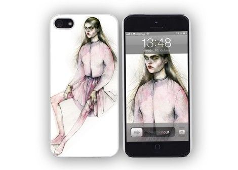 iPhone 4/4s/5 case Pink / designed by Daria Makeeva / 31,- € / www.vajco.cz