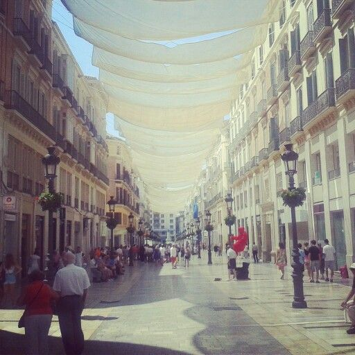 Calle Larios, Malaga, Spain
