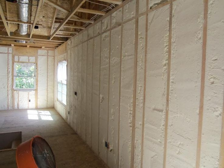 New Spray Foam Insulation for Basement Walls