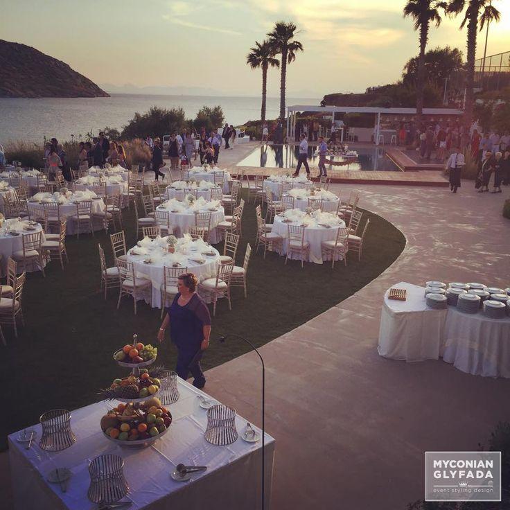 | Beautiful Sunset Wedding | Βασίλης & Κωνσταντίνα | #greekwedding #sunsetwedding #myconianglyfadawedding