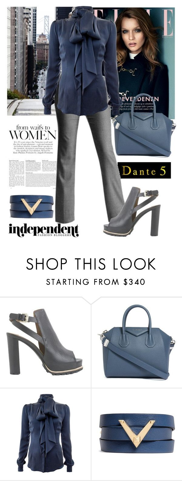 """""""dante5"""" by biljana-miric-ex-tomic ❤ liked on Polyvore featuring Børn, Gap, See by Chloé, Givenchy, Safiyaa, Valentino and dante5"""