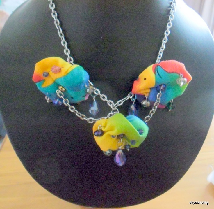 Rainbow Clouds.. my own design one of a kind.. well so far.  $30.00