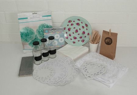 Vintage tea Party package. Great value delivered to your door. http://www.qualitytimepartysupplies.com.au/shop/party-packages/vintage-party-package/
