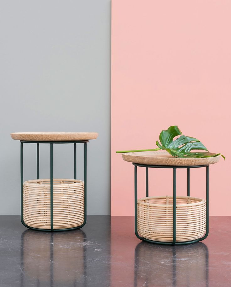 <p>Basket tables' and 'Wicker' collections differ from the visual balance of each removable elements composing the products.The 'Woven' collection by Alain Gilles for Belgian furniture brand, Vincent Sheppard, has recently been awarded for its eco-responsible commitment. The functional sofa and the side table are great for the indoor-outdoor trend right now! It works as much…</p>