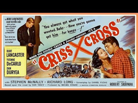 Criss Cross (1949) Trailer - B&W / 2:21 mins - YouTube