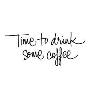 Time to drink some coffee ♡