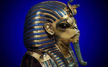 la leggenda dell' #alieno_trovato_nella_grande_piramide