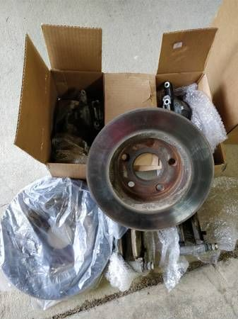 Jeep wrangler Rubicon Factory JK complete front brakes JKU – auto parts – by owner
