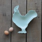 """Casual Country 10"""" Rooster Plate"""