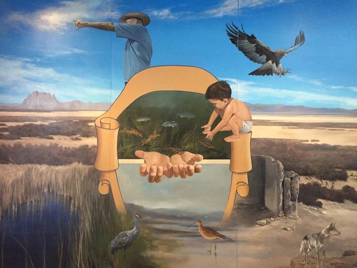 <p>Ahumada, Chih.- El Museo Benito Juárez de la comunidad del Carrizal, fue marco para la celebración del patrimonio natural e histórico