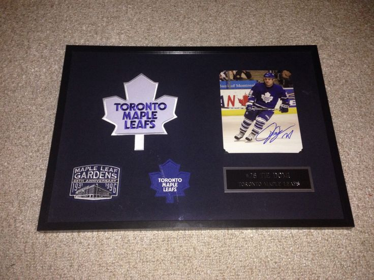Tie Domi frame - Contact me at macdonalds.sportsframes@yahoo.ca if you have any questions or would like to request a frame.