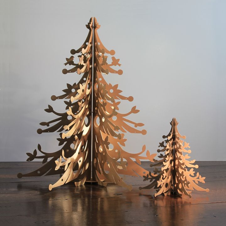 100 recycled cardboard christmas trees an alternative to a cut tree 2 sizes - Amazon Christmas Trees